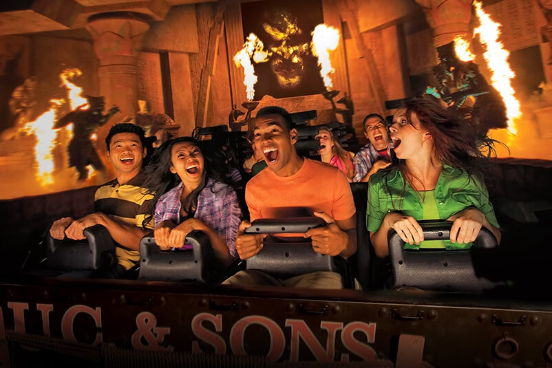 Revenge Of The Mummy At Universal Orlando Re-Opens With New Upgrades!